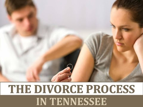The Divorce Process in Tennessee