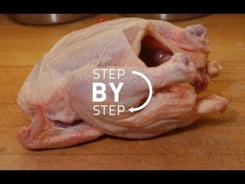 How to Cut a Chicken, How to Cut Chicken Cutlets, How to Debone Chicken, Chicken Wings, Chicken Legs