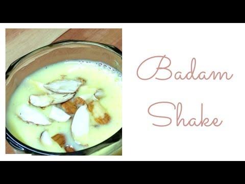 How to make badam shake in Hindi /  Badam Milk Recipe