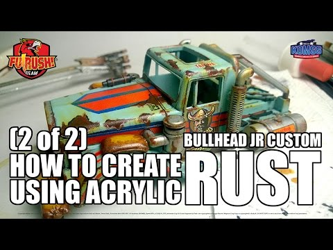 (2 of 2) Create Rust Effect - Paint Chipping