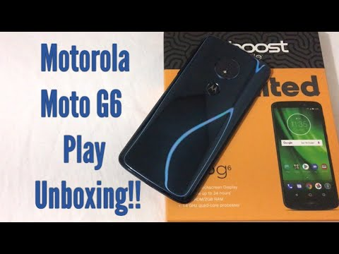 Motorola Moto G6 Play Detailed Unboxing & First Look