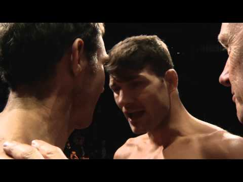 The Ultimate Fighter Nations Finale: Bisping vs Kennedy Staredown