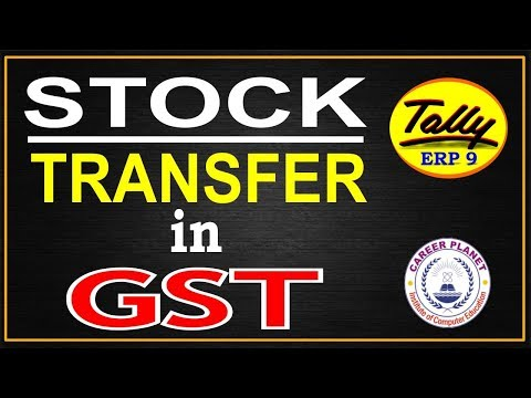 Branch stock transfer under GST in Tally ERP 9 Part-105|Learn Tally ERP 9 GST Accounting
