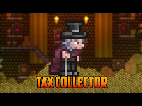 Terraria - Tax Collector NPC & Classy Cane Guide (Duck Tales Style)