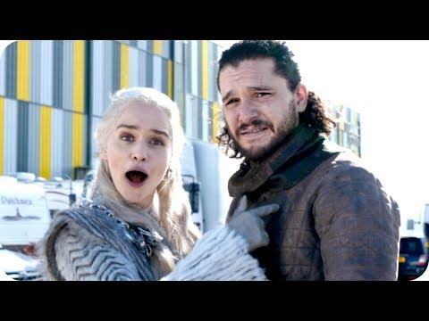 Tour the Game of Thrones Set with Emilia Clarke (Daenerys Targaryen) // Omaze