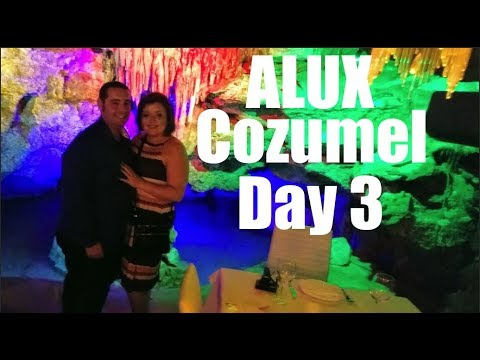 Dinner In A CAVE! and Day Trip To Cozumel! Playa Del Carmen Mexico Day 3!