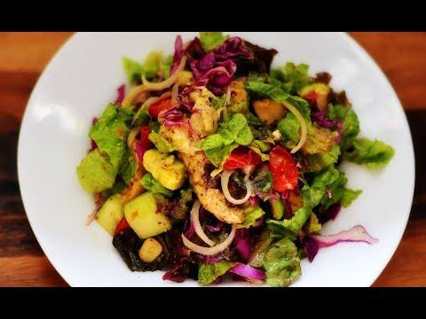 Cheesy Salad   Ek dum Easy Salad   Healthy Recipes @ Guru's Cooking