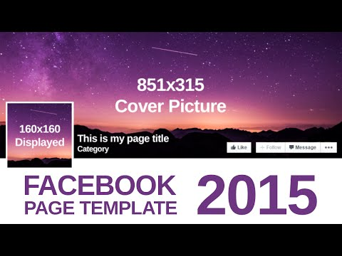 Advanced Facebook Page Template 2015 - Free PSD Download