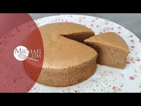 Coffee Cotton Sponge Cake