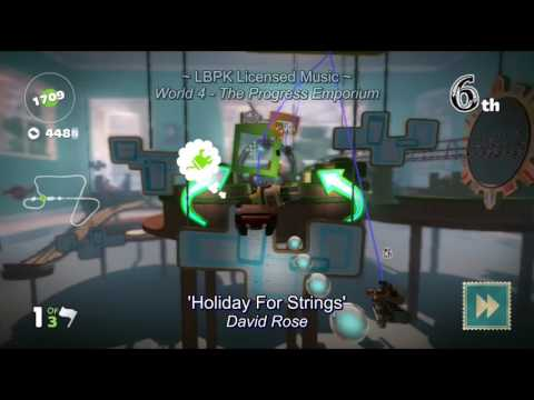 LittleBigPlanet Karting Soundtrack - Licensed music (Track List)