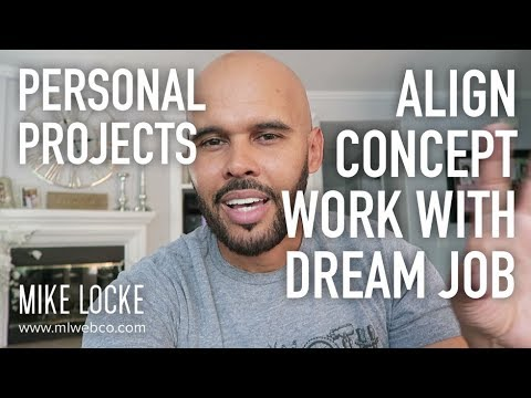 Align Your Personal Projects with Your Dream Job - UI/UX Design Advice