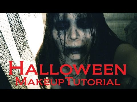 Quick Easy Scary Halloween Makeup Tutorial