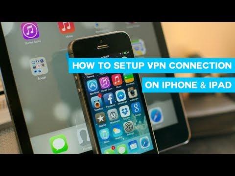 How to setup VPN on iPhone, iPad, iPod