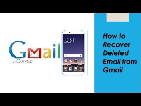 How to Recover Deleted Email from Gmail