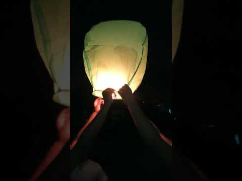 How to blow hot air balloon