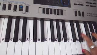 Kajra Mohabbat wala| Keyboard tutorial|piano|Harmonium |Slow in end
