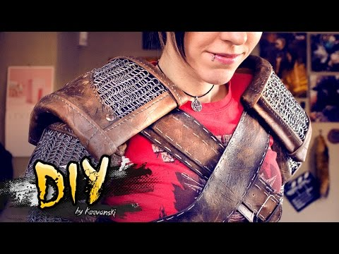 DIY Cosplay · The Witcher 3 · Geralt of Rivia · Tutorial Goma Eva Foam Leather Chainmail