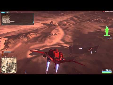 Planetside 2 Mosquito Flying