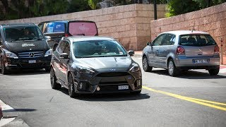 Ford Focus RS Pop and bang - Y Fang - imclips net