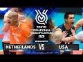 Netherlands Vs USA Highlights Mens OQT 2019