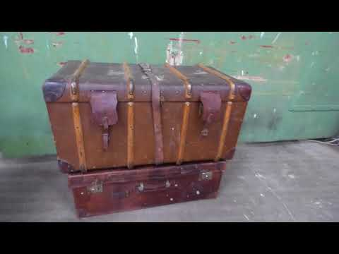 Scaramanga | How To Restore A Vintage Travel Trunk