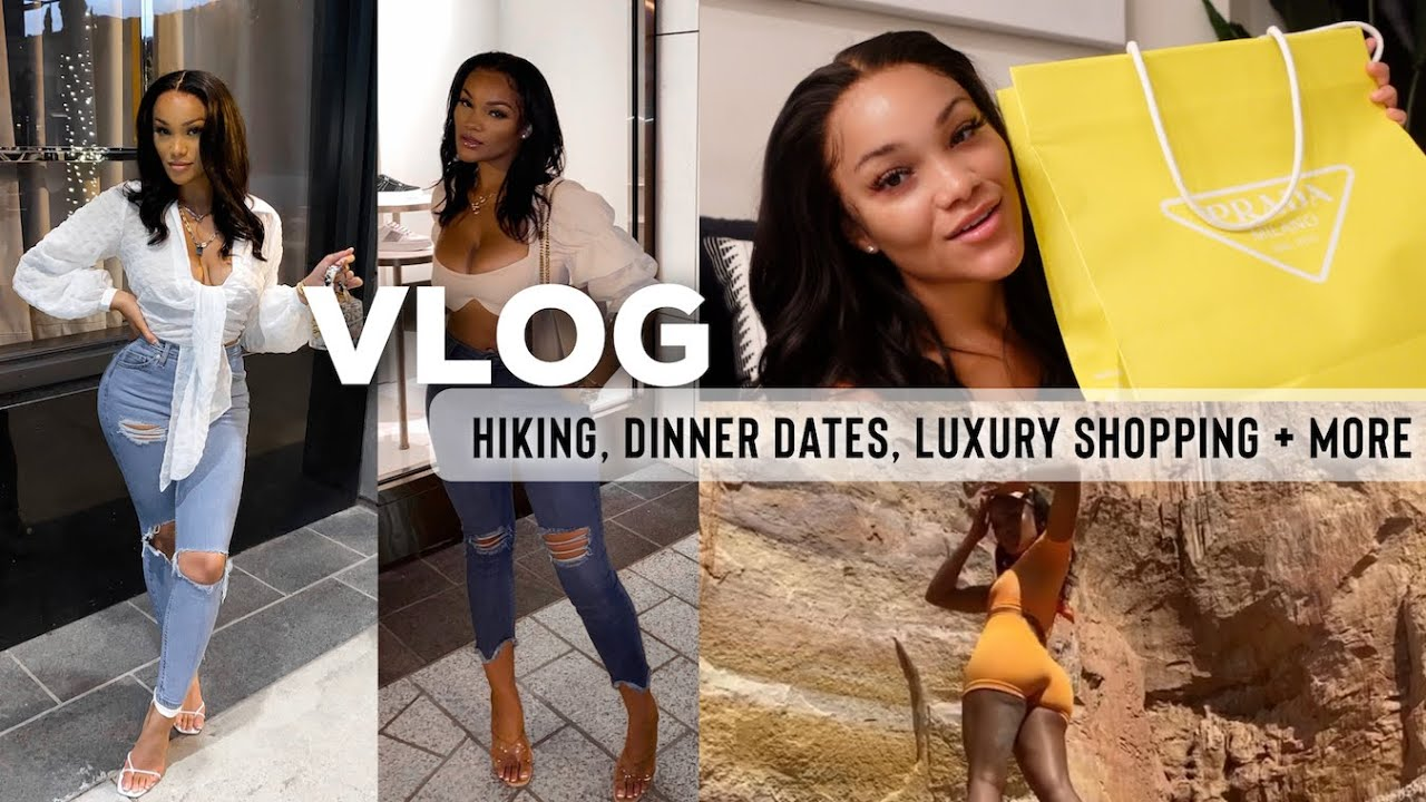 A WEEKLY VLOG | HIKING + LUXURY SHOPPING + HANGING WITH FRIENDS | ALLYIAHSFACE VLOG