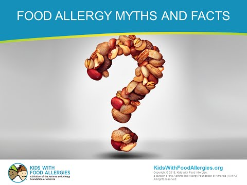 Food Allergy Myths and Facts