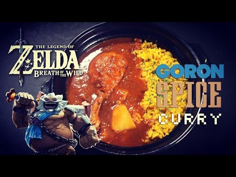 Goron Spice Curry from Zelda Breath of the Wild - How to Make