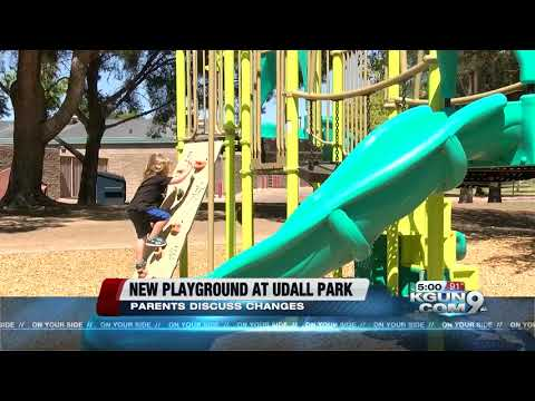 New playground opens at Udall Park
