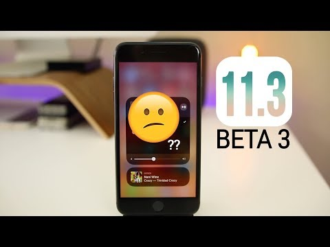 iOS 11.3 Beta 3 Released - Big Feature Removed!