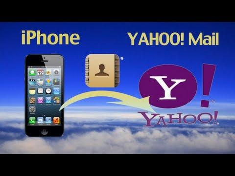 How to export iPhone 6/5S/5C/5/4S/4 Contacts to Yahoo Address book to backup your iPhone Contacts?