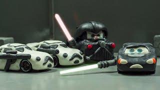 SERIES 1 Return of the Jedi Star Wars StarCars LIGHTNING MCQUEEN & DARTH MATER  Disney Pixar CARS 3