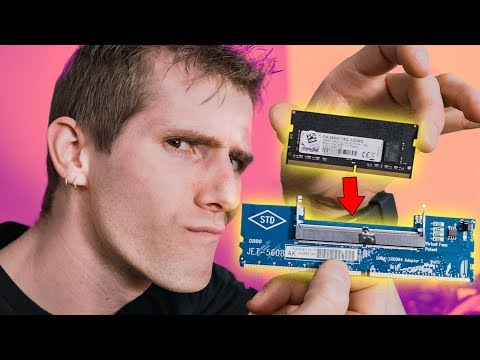 Installing Laptop RAM into Desktop!?