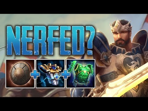 Xxx Mp4 Quot NERFED Quot King Arthur Solo Gameplay SMITE Conquest 3gp Sex