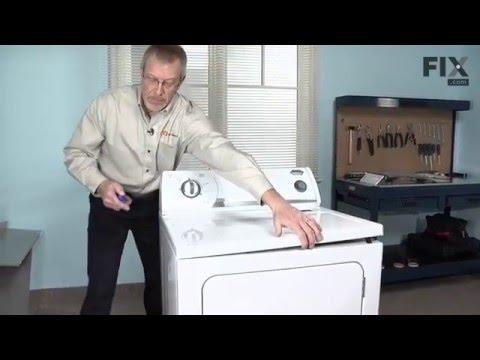 Kenmore Dryer Repair – How to replace the Multi Rib Belt - 92-1/4