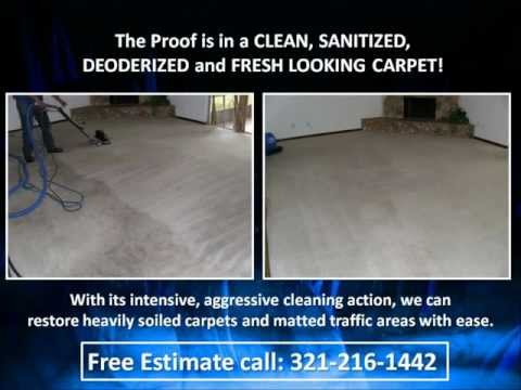 Deep Steam Carpet, Tile, Grout and Upholstery Cleaning Orlando 321-216-1442