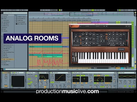 Track: PML - Analog Rooms (Ableton Live + Arturia MINI V3 - Template & Course available)