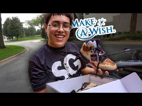 HE'S HAD FIVE HEART SURGERIES...MAKE -A- WISH KID DREAMS COME TRUE!!! (VERY EMOTIONAL)