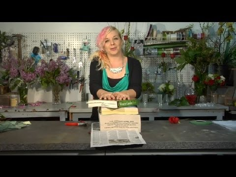 How to Press Flowers: Roses : Floral Tips & Ideas
