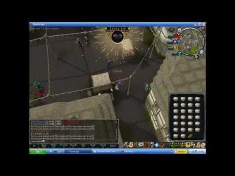 Runescape lvl 3 Skiller | Racoons Tail | Thieving