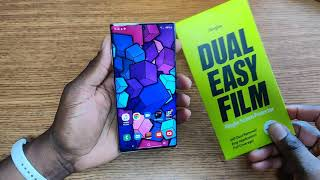 Samsung Galaxy Note 10 Plus | Ringke Dual Easy Film Installation & Review!