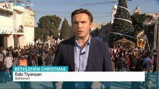 Christmas in Bethlehem, Ediz Tiyansan reports