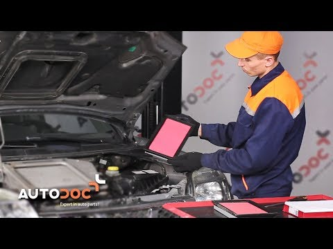 How to replace air filter NISSAN X-TRAIL T30 TUTORIAL | AUTODOC