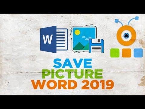 How to Save a Picture from Word 2019