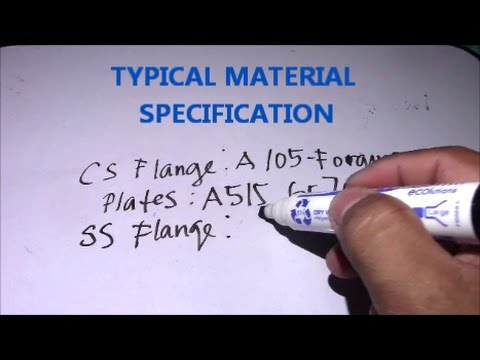 Typical Material Specification and Difference SS 304, 316, 312