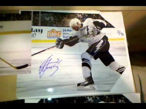 Tampa Bay Lightning IP Autographs