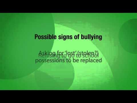 Dr Michael Carr-Gregg quick tips for parents - What are the signs your child may be bullied?