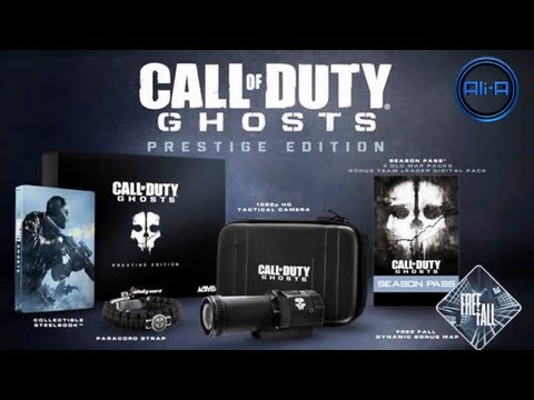 Call of Duty: Ghosts - Hardened & Prestige Edition info! Season Pass & MORE! (COD Ghost)