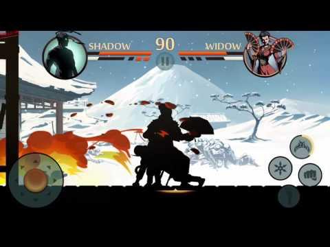 Shadow Fight 2 vs Widow