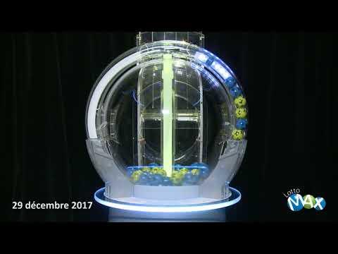 Tirage Lotto Max 29 decembre 2017